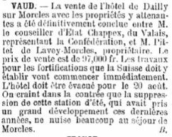 1 Vente de l'hôtel de Dailly (1892)