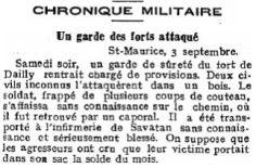 16 Garde des forts attaqué (1916)