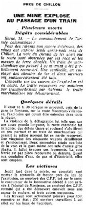 18 Explosion de Veytaux-Chillon (1941)