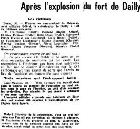 20.2 La catastrophe de Dailly 1946