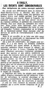 20.4 La catastrophe de Dailly 1946