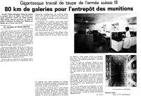 27 Travail de taupe de l'armée suisse partie 1 (1975)