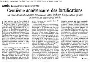 34 Centième anniversaire des fortifications (1992)