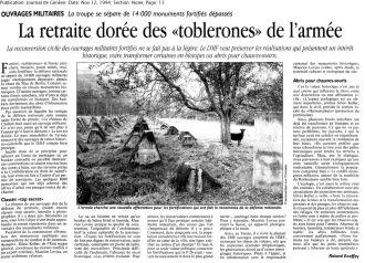 35 La retraite dorée des toblerones (1994)